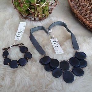 Faire Collection Boho Necklace Set